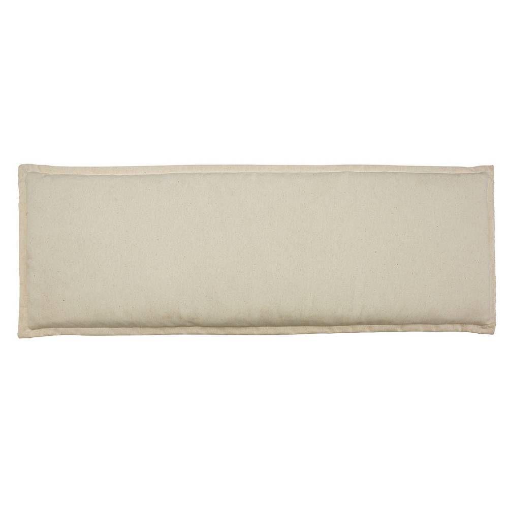 Buy Argos Home Garden Bench Cream Cushion | Garden ...