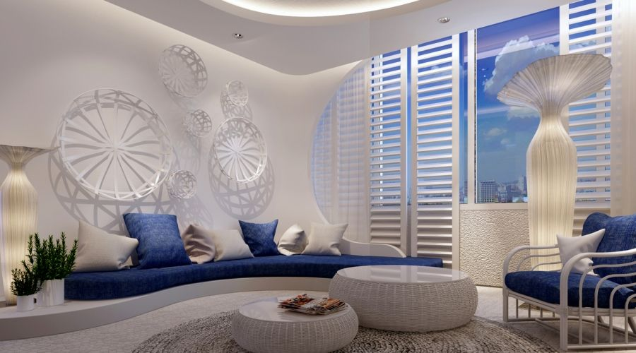 Mediterranean Marina Concept Blending Land And Sea Together In A