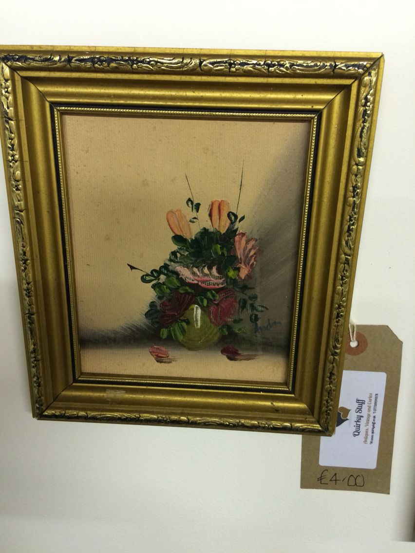 Pretty Flower Vase Painting At Quirky Stuff Quirky Stuff 2