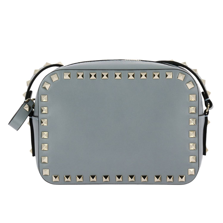 88e3e6433a0c VALENTINO MINI BAG ROCKSTUD SMALL SHOULDER BAG WITH METAL STUDS.  valentino   bags  shoulder bags  leather