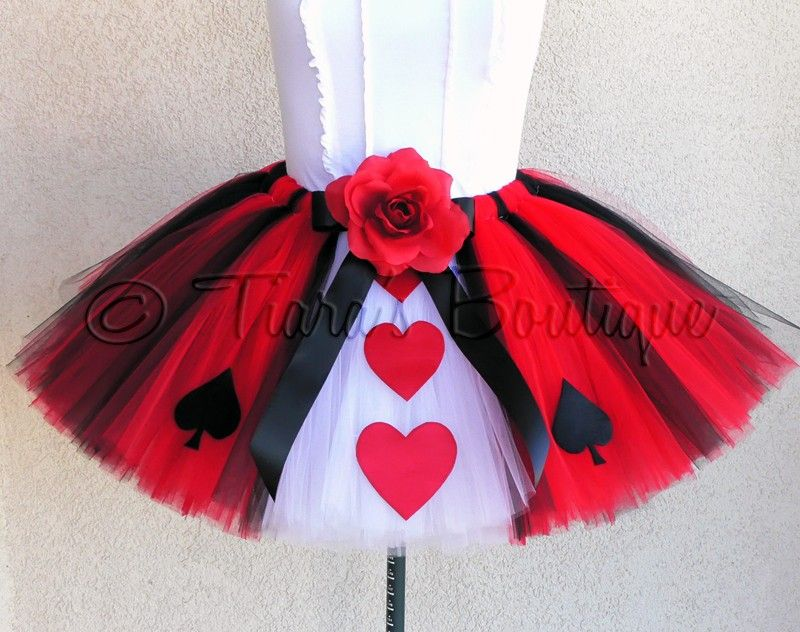 Queen Of Hearts Costume Diy Tutu Halloween Tutu Costume...