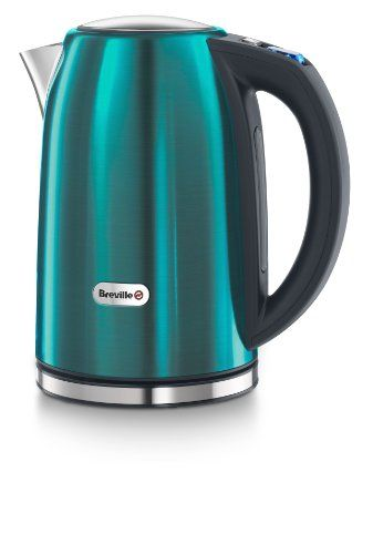 Breville Rio Teal Stainless Steel Jug Kettle Amazon Co Uk