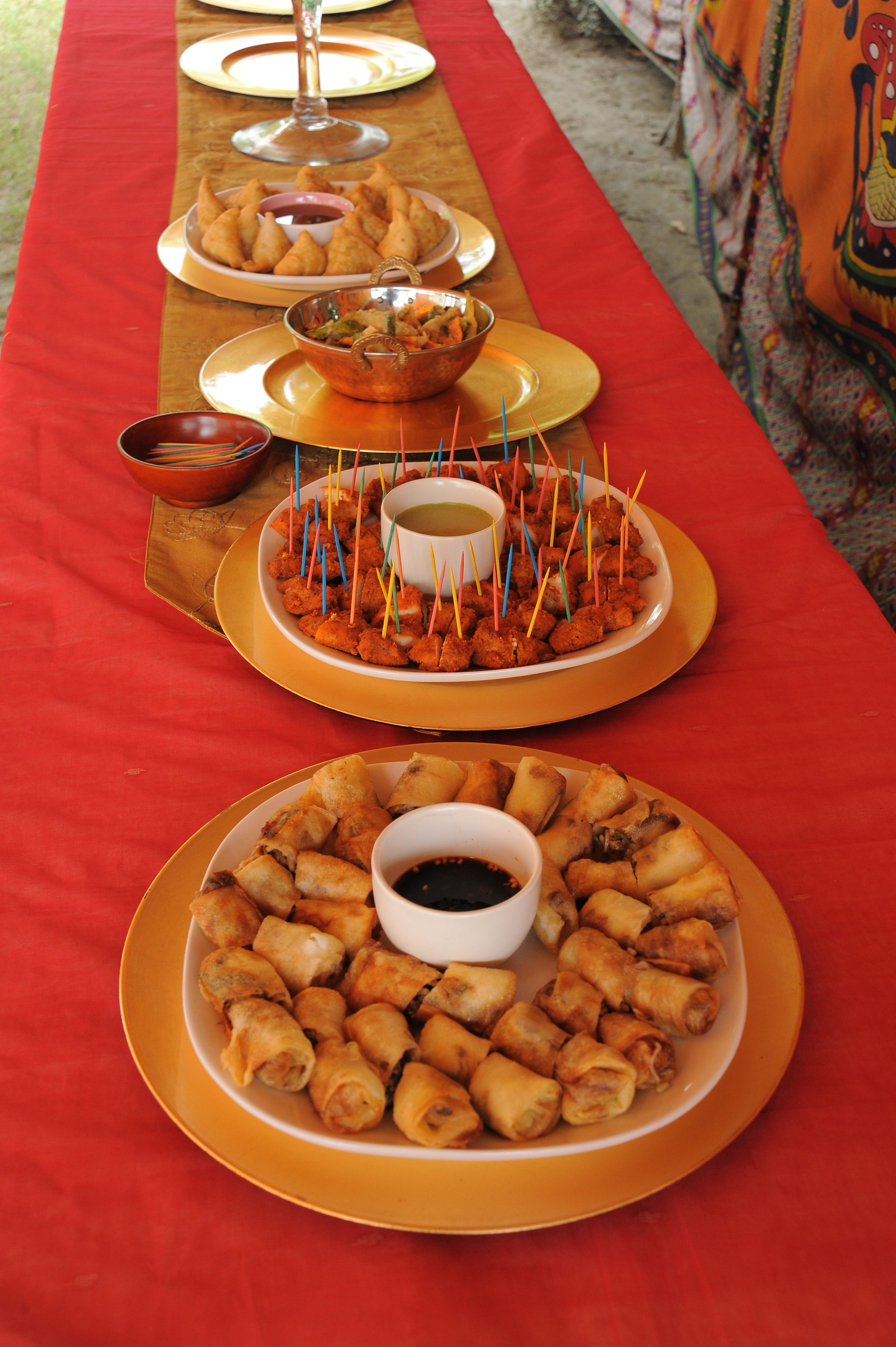 Bollywood Party Food Ideas Ugh Once Again No Link To The Content Wedding Food Catering Wedding Food Eid Party