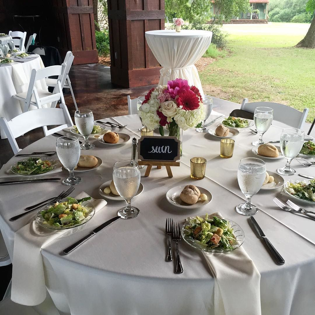 Perfect weather amazing food gorgeous flowers and a beautiful bride and groom...what more do you need on a Sunday?  #touchofwhimsy #wedding #foodies #spiceoflife #ilovemyjob #sanantonio