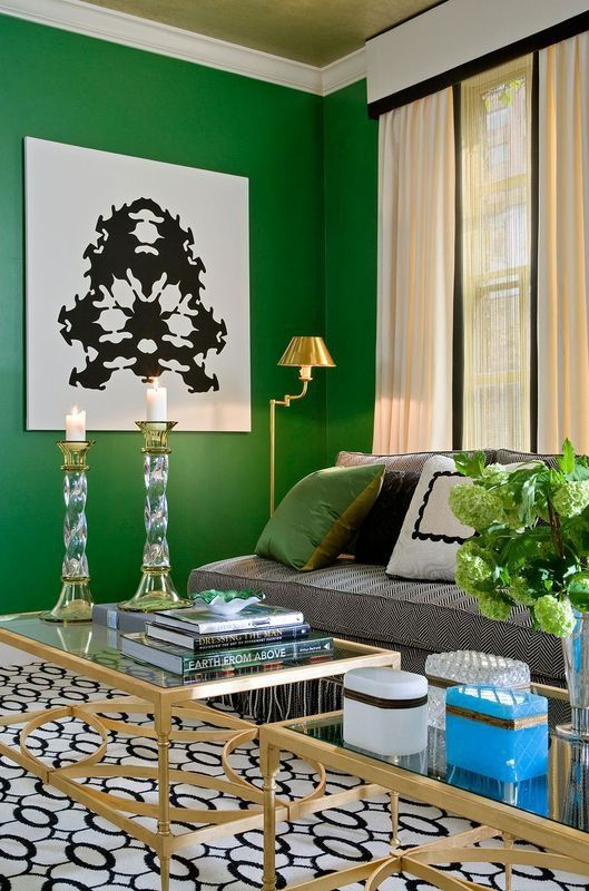 Emerald Green Pantone S 2013 Color Of The Year Green Interiors