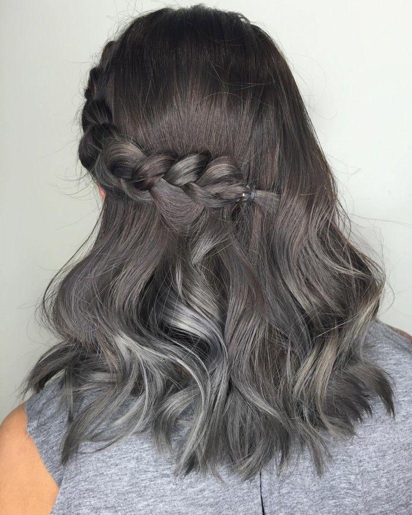 17 Şık Saç rengi 2016: Mor Saç Fikirlerini dene