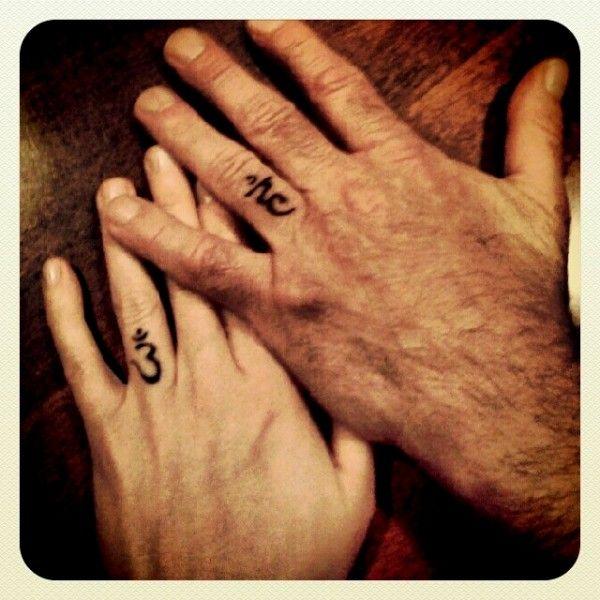 spiritualweddingtattoos Photo by via Inked Weddings httpwww