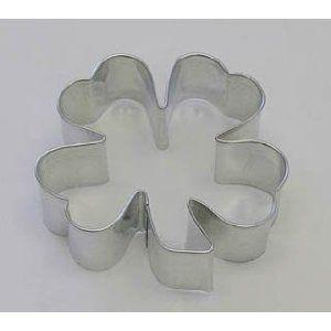 "Clover  Cookie Cutter 2.75/""  Baking Flower Design Symbol Saint St Patricks Day"