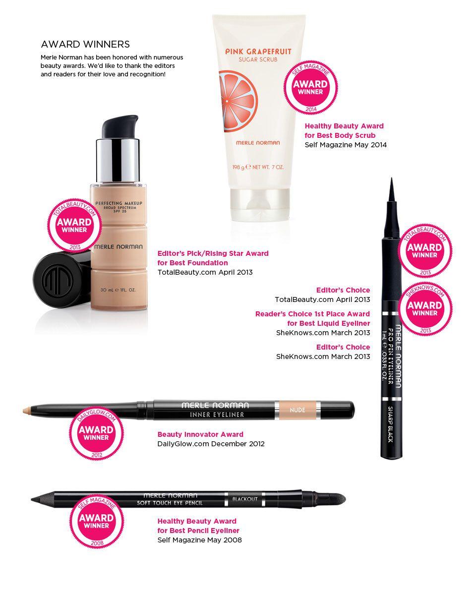 Merle Norman Award Winners Merle norman makeup, Top