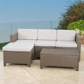 Found it at Wayfair - 5 Piece Stylish Seating Group with Cushion
