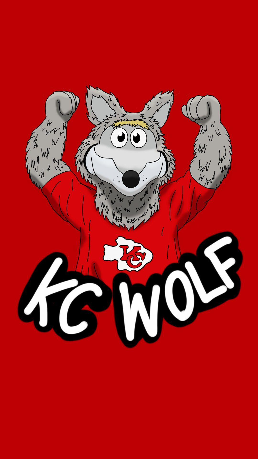 Kc Wolf In 2020 Kansas City Chiefs Football Kansas City Chiefs Logo Nfl Kansas City Chiefs