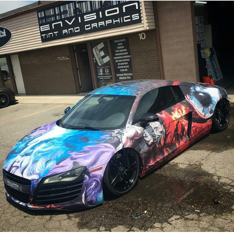 Amazing Artcar Audi R8