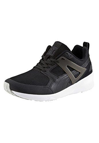 Puma Arial Evolutions5 Shoes - Black-white - http://uhr.haus/puma-6/uk-09-5-puma-arial-unisex-erwachsene-sneakers-grau
