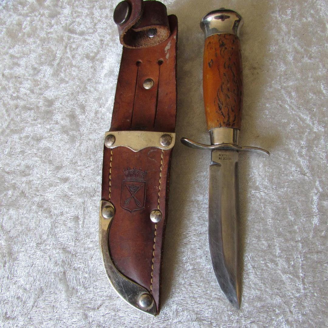Erik Frost Mora Knife Sweden: Vintage-mora-andersson-anderson-knife_1