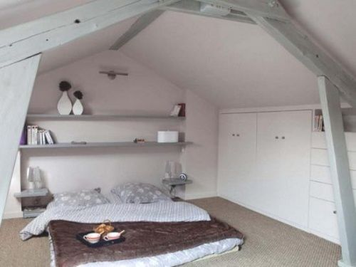 How neat would a loft bedroom be?!