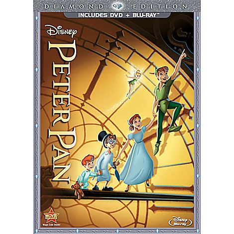 Peter Pan 2 Disc Combo Pack Free Lithograph Offer Pre Order