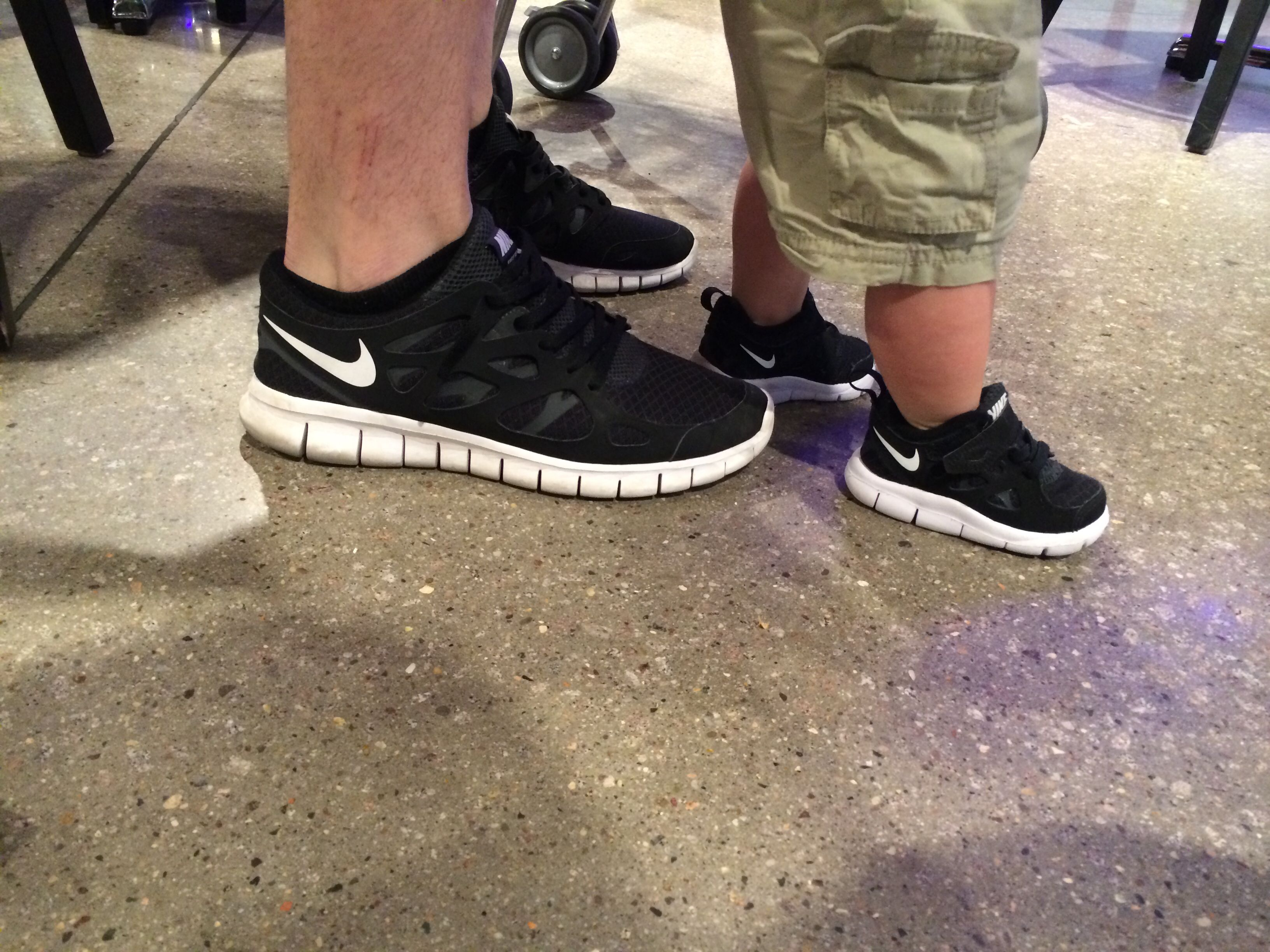 superior quality c065d 45cec Father son matching shoes. Nike. Free run