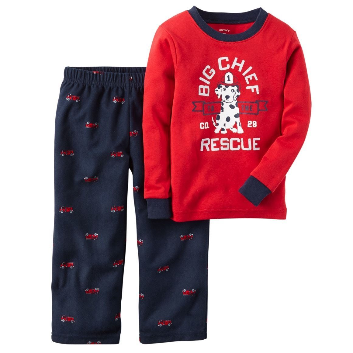 5bd6be9615a2  8.99 - Carter s Nwt 12M Baby Boy Cotton Fleece 2Pc Pj Pajama Set ...