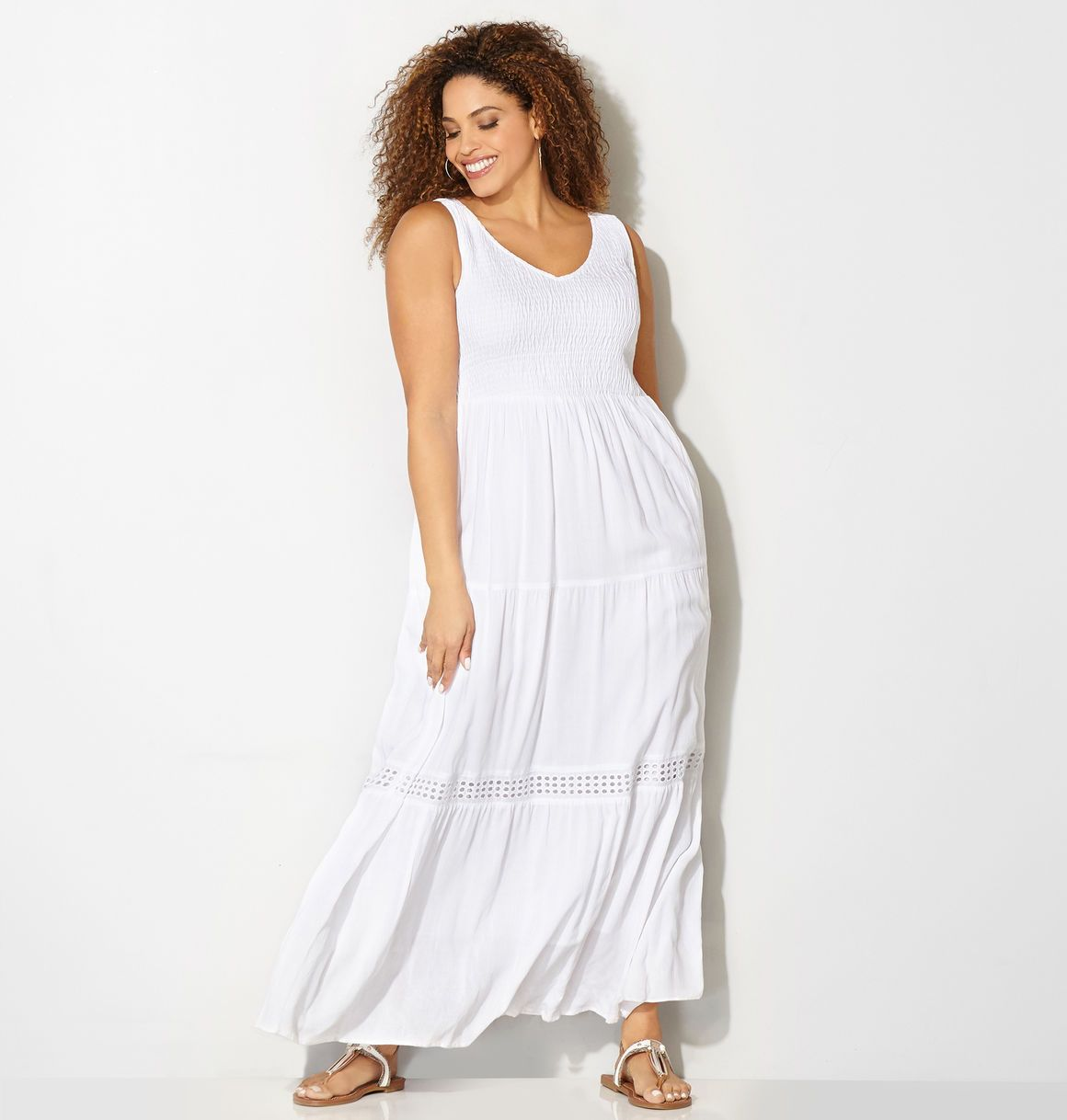 Find Romantic New Plus Size Dresses For Summer Barbeques Weddings