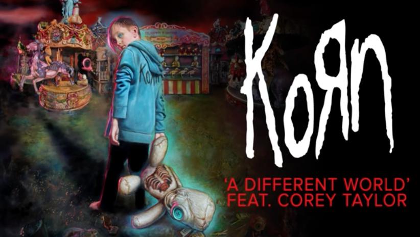 Korn estrenan nuevo tema con el cantante Corey Taylor