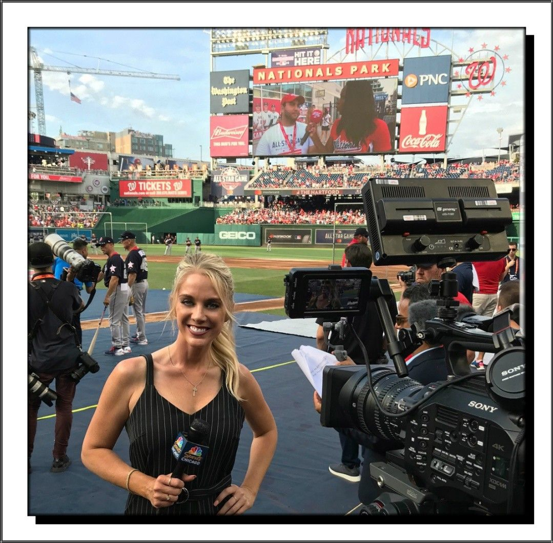 Kelly Crull 2018 All Star Game All Star Chicago Cubs Beautiful Women