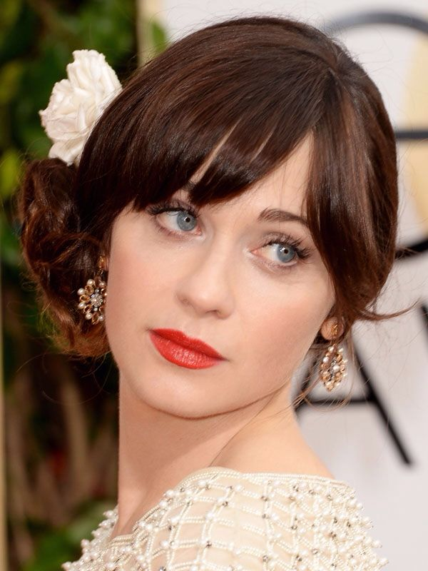 Zooey Deschanel #GoldenGlobes2014