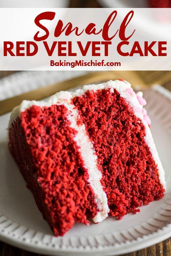 Small Red Velvet Cake #redvelvetcake