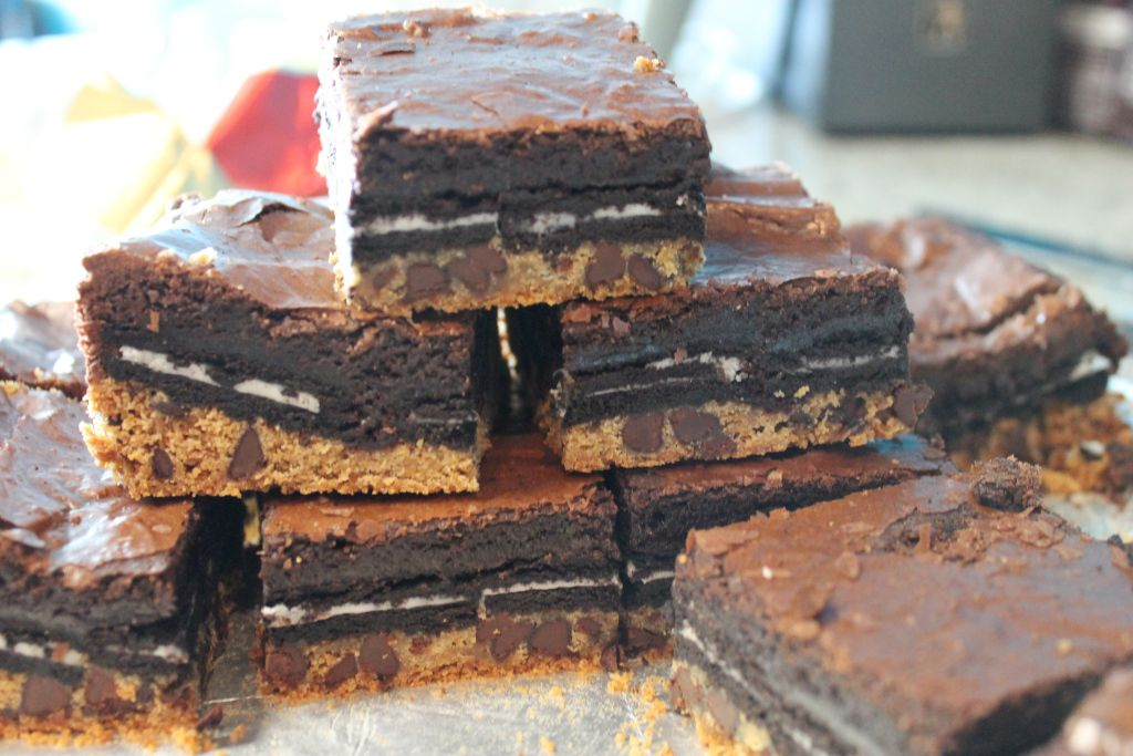 Slutty Brownies — What's Cooking on Planet Byn