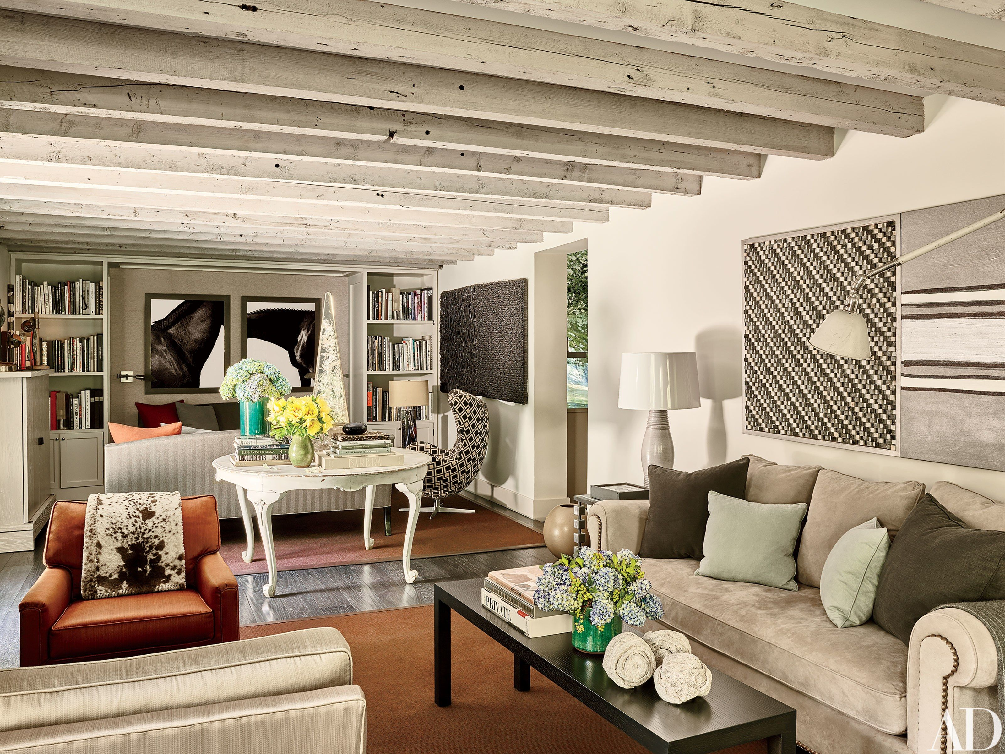 Living Room Center Bedford In.A Colonial Era Residence In Bedford New York Becomes A