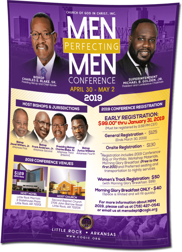 COGIC Men's Department – Church Of God In Christ, Inc | EARLY