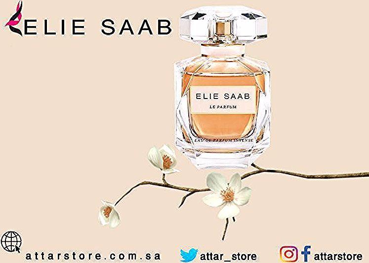Elie Saab Le Parfum Eau De Parfum عطر زهري لـ النساء تتكون م قدمته من زهرة الليمون وقلب العطر من الياسمين والباتشولي Perfume Bottles Perfume Beauty