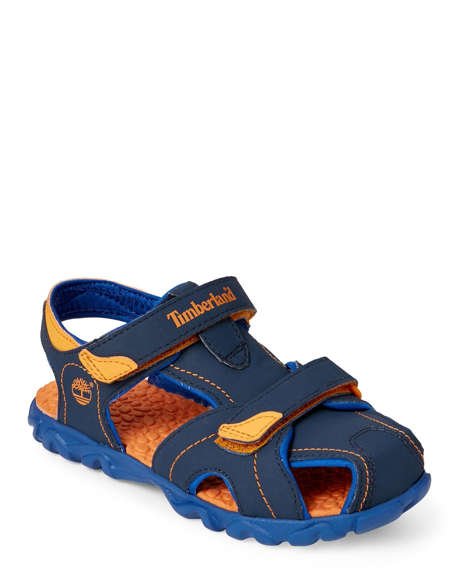 Boutique en ligne lo mas baratas ahorre hasta 80% Timberland (Kids Boys) Blue & Orange Splashtown Closed Toe Water ...