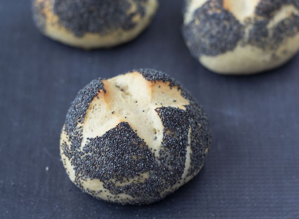 Recipe for Homemade Danish Breakfast Buns (Rundstykker)