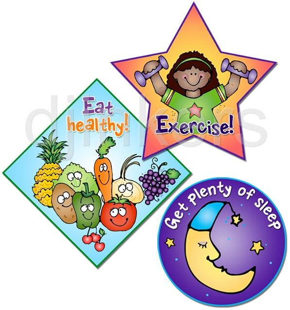 eat healthy exercise sleep health clip art health class clip rh pinterest com Covered Dish Clip Art Dining Clip Art