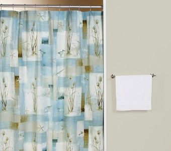 Curtain Bath Outlet Blue Waters Fabric Shower Curtain Shower