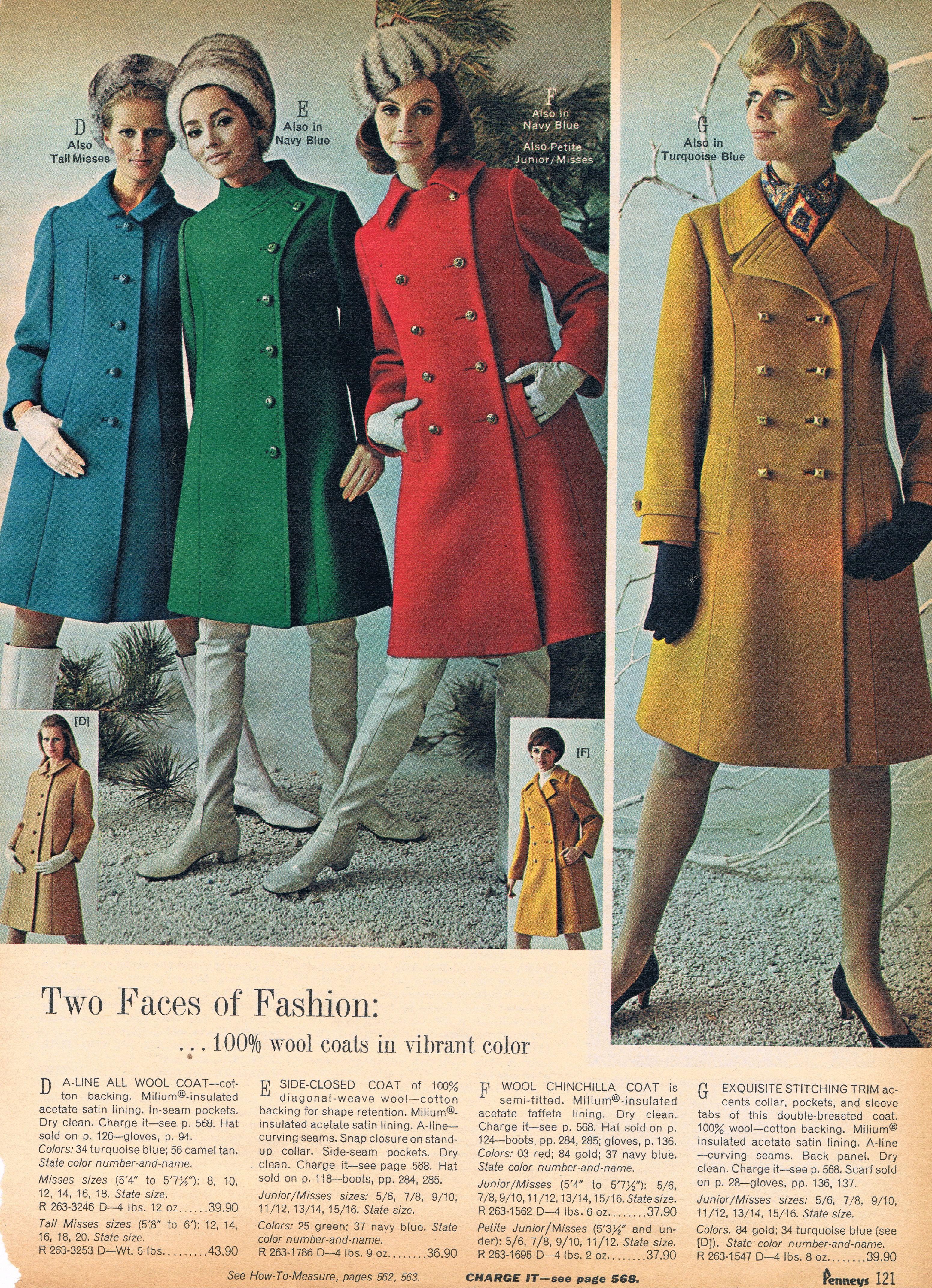 Penneys catalog 60s | MODA AÑOS 60 | Pinterest | Ropa vintage ...