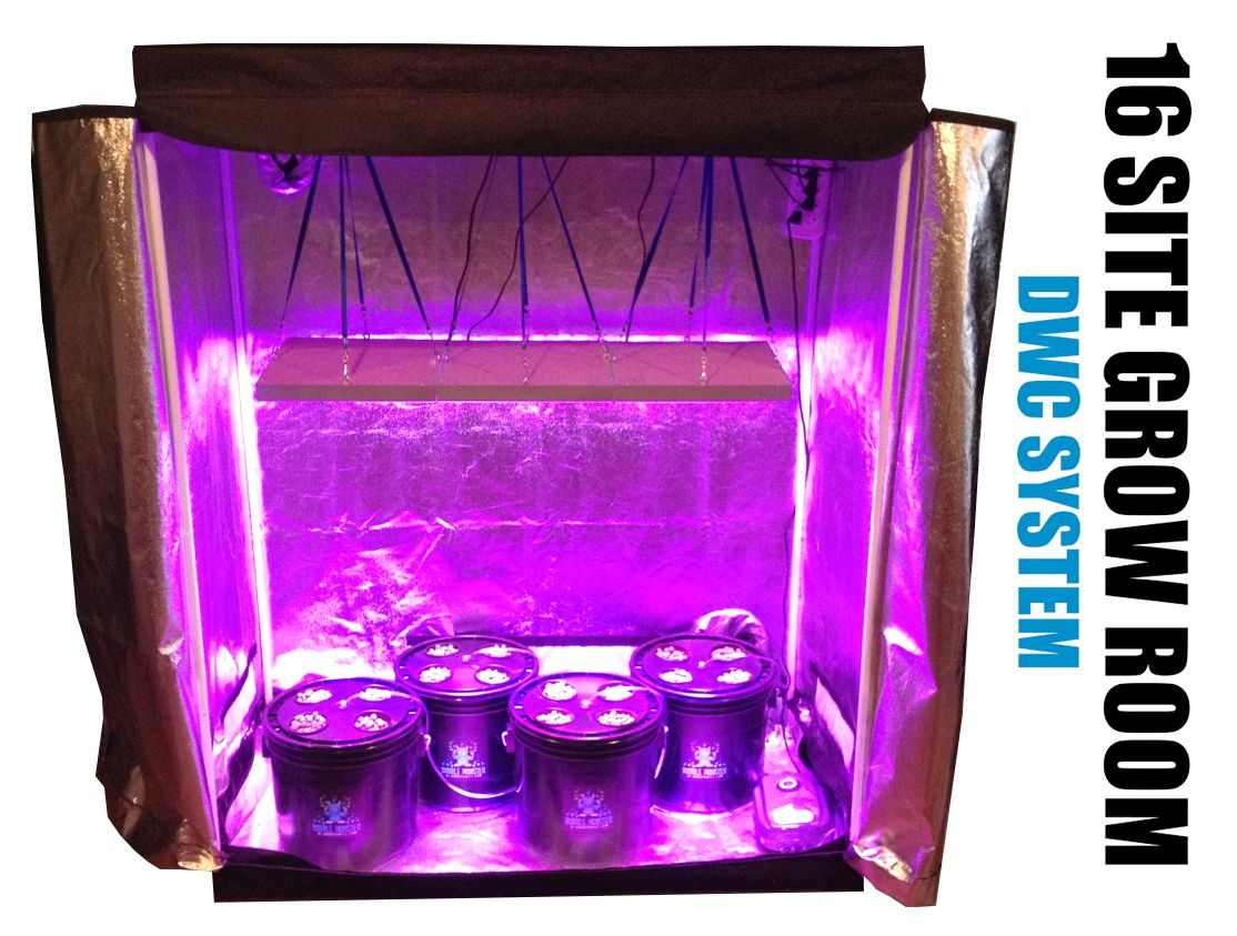 16 Site Hydroponic Grow Room Grow Tent On Sale Now 640 x 480