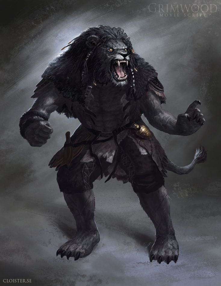 Grimwood Character Concept Illustration 2 By Cloister On Deviantart Reminds Me Of A Khajiit Or A Were Creature Design Concept Art Characters Character Concept
