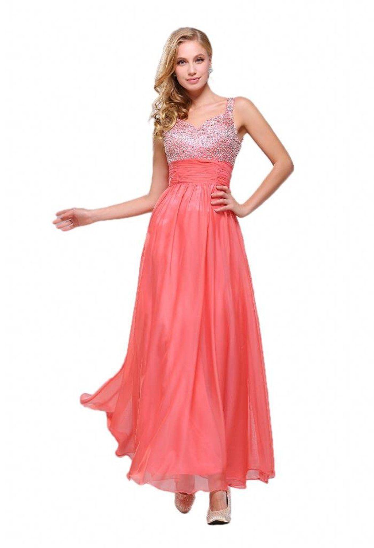 Efashion womenus evening dress color peach you can get more