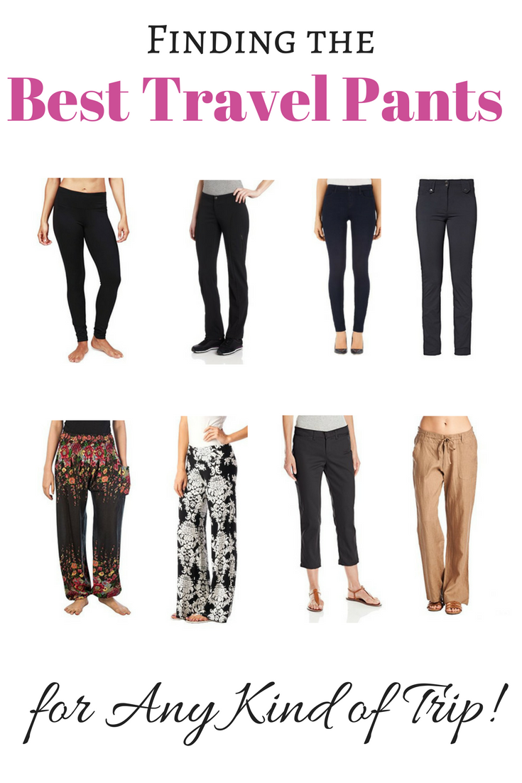 The Best Travel Pants For Any Kind Of Trip Women En S Included