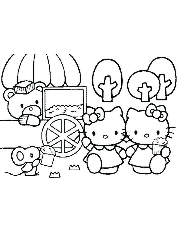 Printable Hello Kitty Coloring Pages For Kids Free Coloring Sheets Hello Kitty Colouring Pages Hello Kitty Coloring Kitty Coloring