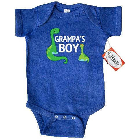 inktastic Heart Belongs to Grandpa Infant Creeper