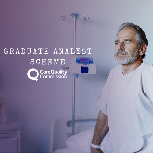 The Graduate Analyst Scheme at CQC an intake of