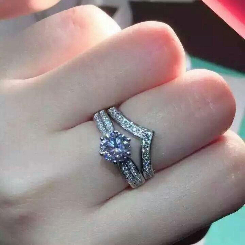 Beautiful 1 carat pave ring Wedding Bands Pinterest