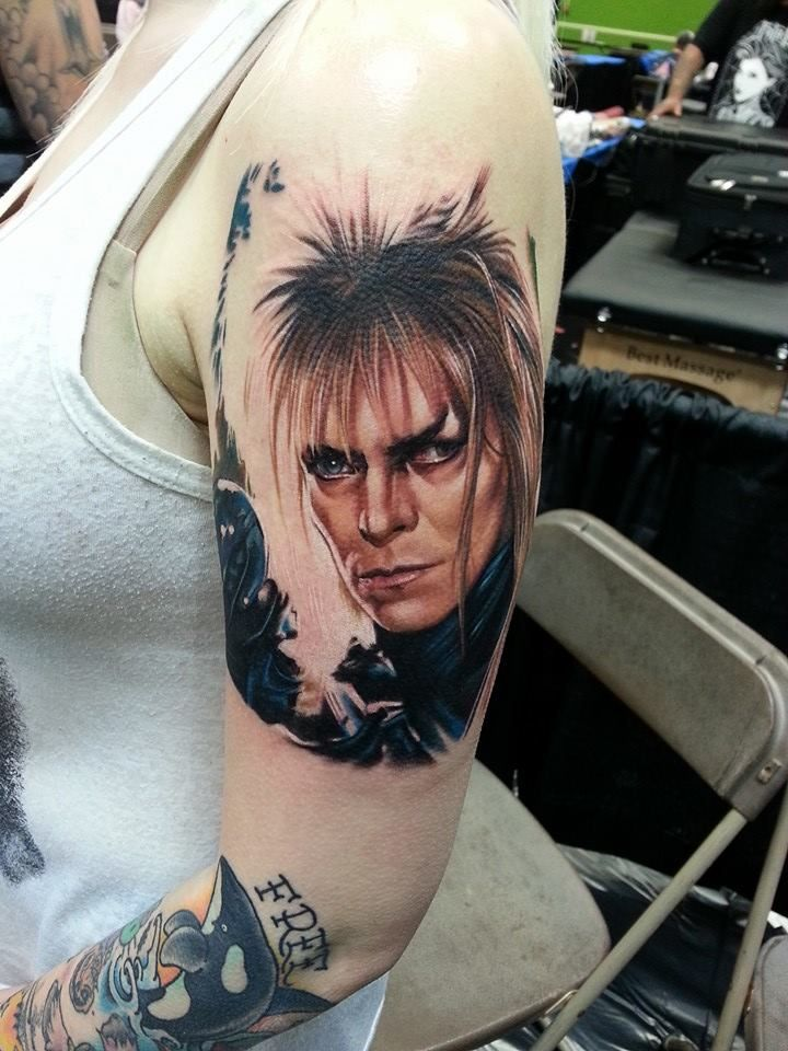 Best of show at tattoos by the bay sarah miller sleeve