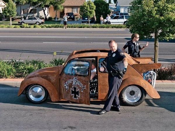Jesse James Monster Garage Turbo Vw Drag Bug Rat Getting A