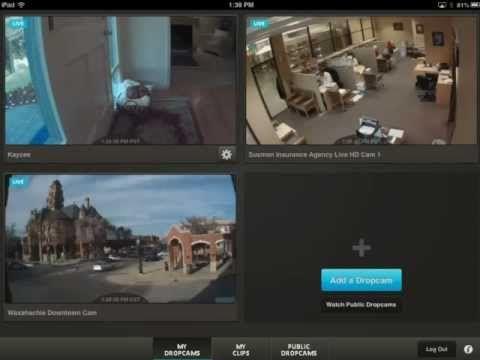 Explore the Dropcam iPad App