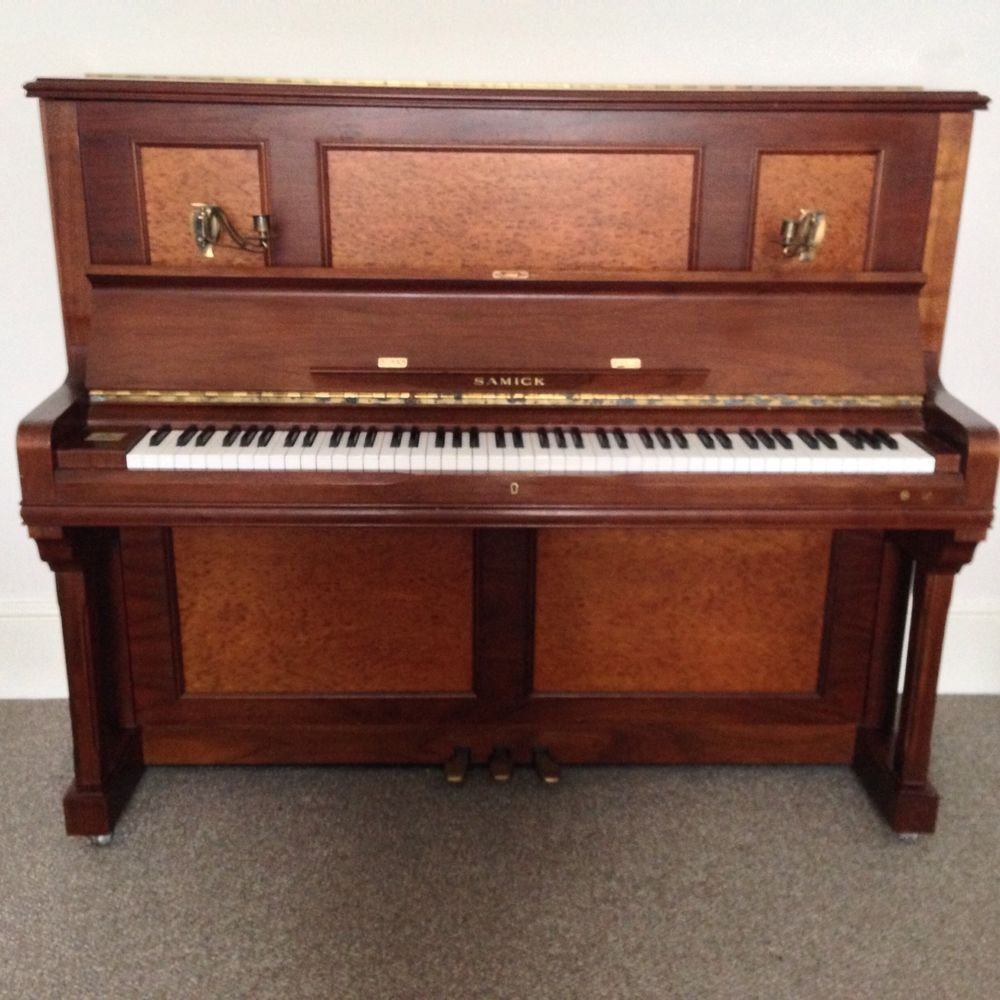 Samick Upright Piano In Walnut And Oak With Free Matching Piano Stool & Samick Upright Piano In Walnut And Oak With Free Matching Piano ... islam-shia.org
