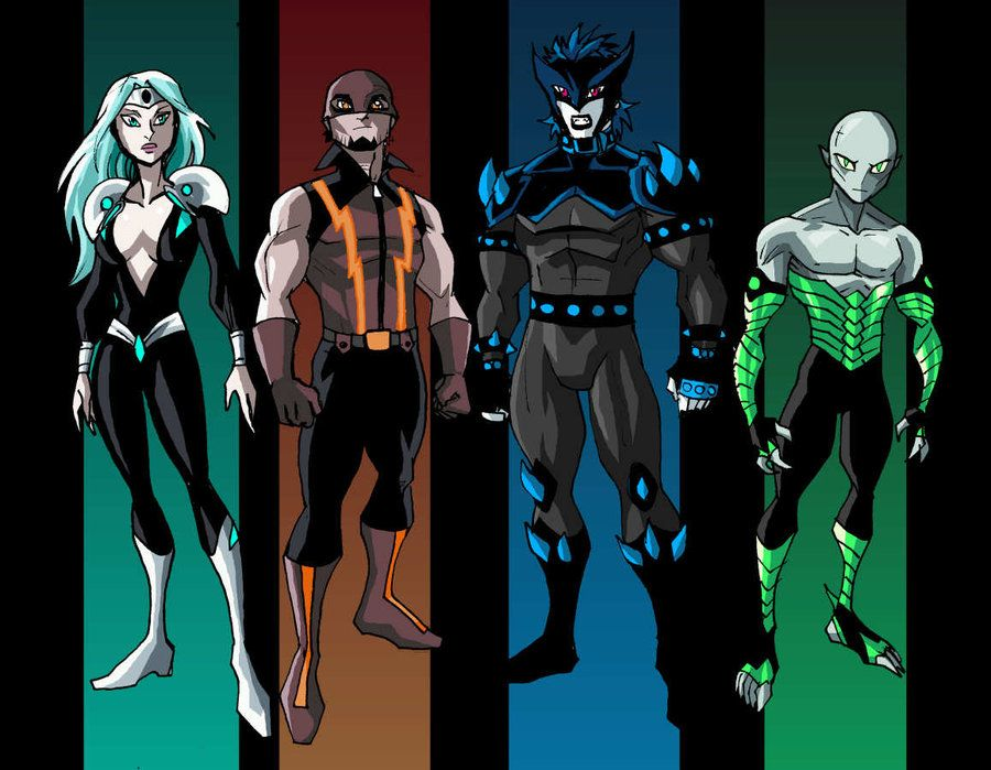 Superhero Character Design Ideas : A re envisioning of members the original sentinels