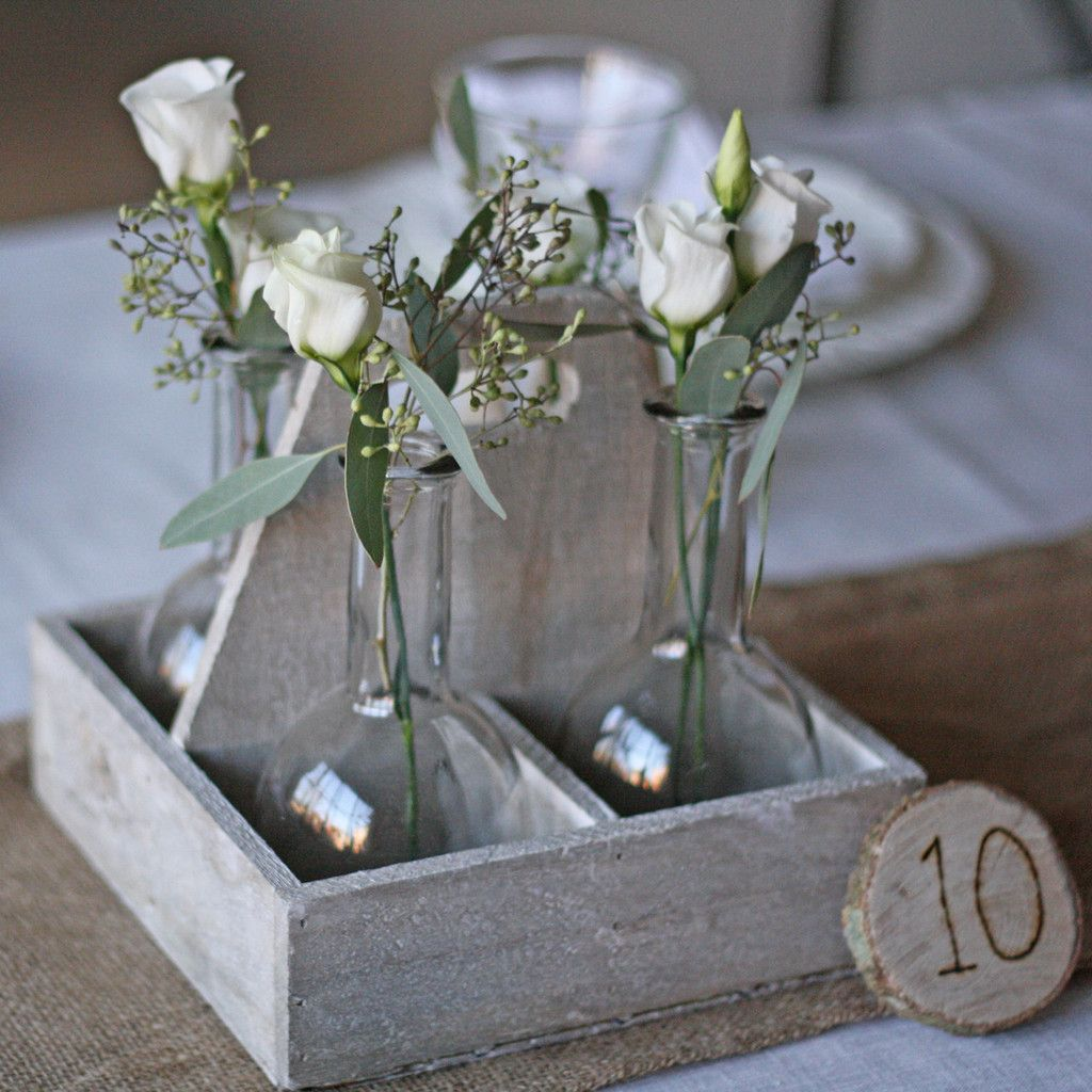 Wooden Disc Table Numbers woodland wedding decorations